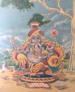 Ganesha en Sri Muthumariamman