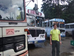 Estación de autobuses en Nuwara Eliya