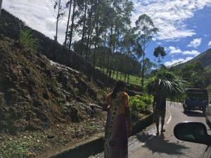 De camino a Nuwara Eliya