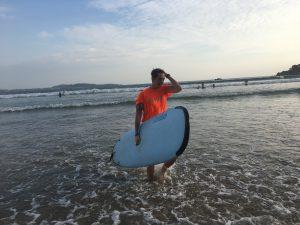 Surf en Weligama