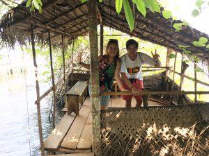 Islote de la canela en Madu River