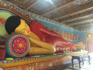 Figura de Buda tumbado