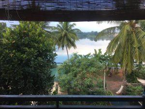 Lago en Anuradhapura