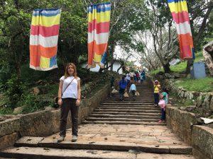 Escaleras Mihintale