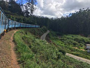 Tren por las tierras altas