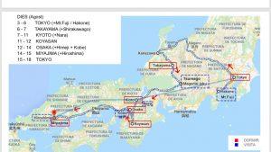Ruta Japón